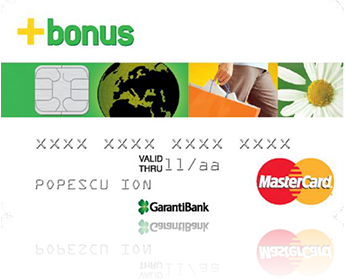 Garanti Bank, through Bonus Card